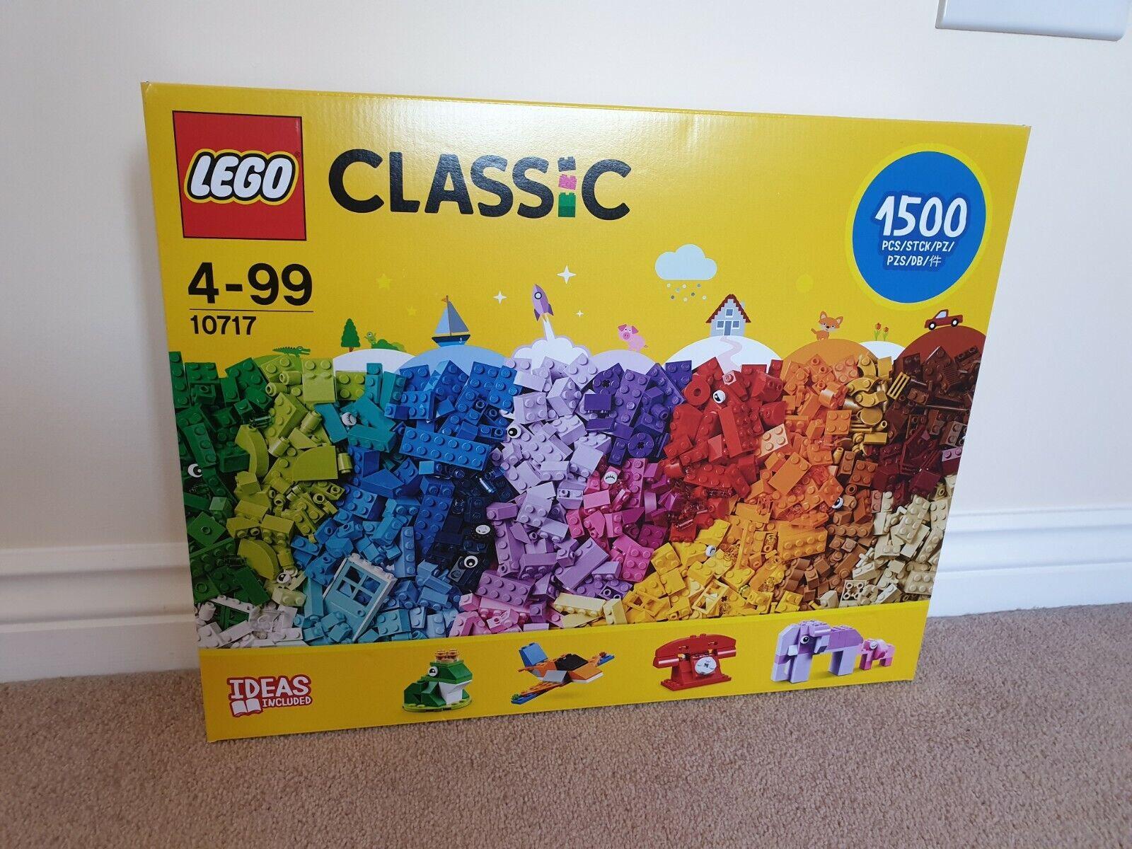 Lego 10717 Classic Bricks Starter Set with Ideas - New & Sealed with Damaged Box