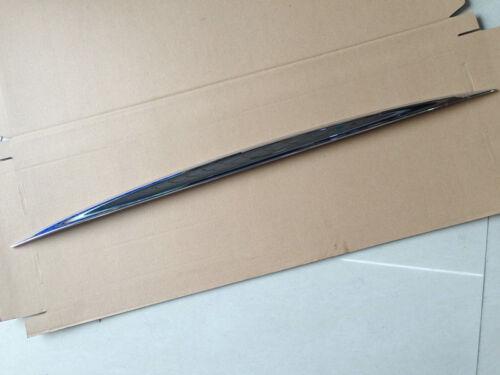 2*Chrome Rear Upper+Bottom Door Trunk Lid Cover Trim For Nissan Murano 2015-2017