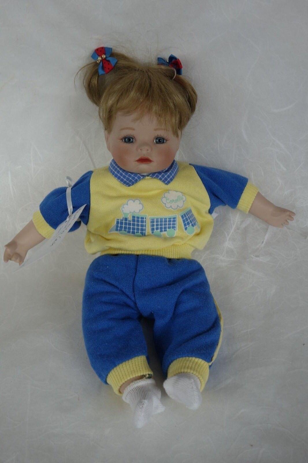Puppe Hannah Hannah Hannah 1992 35 cm Künstlerpuppe Porzellanpuppe Deko 07ab68