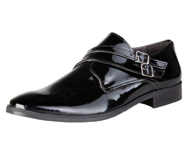 [NEU] Versace V1969 ARSENE schwarz Größen Echtleder Lackleder Herrenschuhe alle Größen schwarz 644b3e