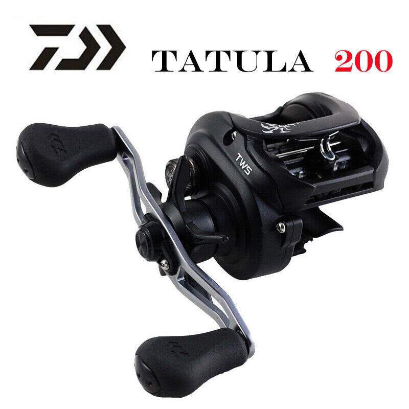 Nuevo 2019 Daiwa Tatula 200 H 200HL 200HS 200HSL Baitcasting Reel De Pesca