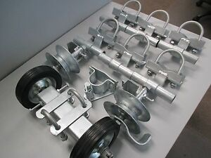 Image Is Loading Rolling Gate Hardware Kit Commercial Type 2 034
