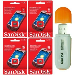 SanDisk-8GB-16GB-32GB-Micro-SD-Card-SDHC-TF-Flash-Memory-Card-Adapter-USB-Reader