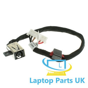 DC-Jack-Power-Socket-Cable-Dell-DC30100UD00-KD4T9-Charging-Wire-Connector
