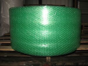 """3/16"""" Small Recycled Green Bubble, 12"""" x 300' Per Order - SHIPS FREE!"""