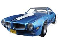 1972 Pontiac Firebird Trans Am Blue 455 Ho To 1002pc 1/18 Autoworld Amm1076