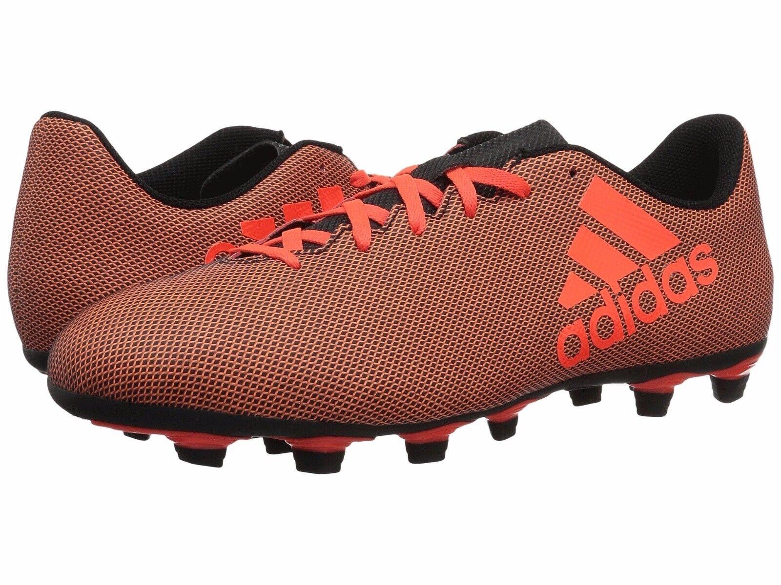 Mann adidas fußballschuh leistung schwarz x 17,4 fxg s82400 schwarz leistung / solar ROT / solar neue 51b20c