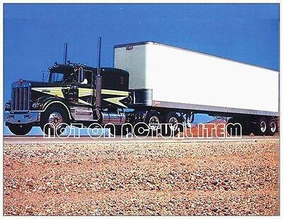1976 Kenworth W900 V.I.T Conventional Truck Photo 11 x 17