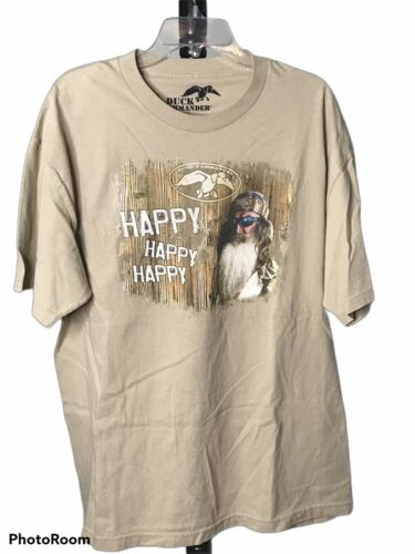 Duck Commander HAPPY HAPPY HAPPY Graphic T Shirt M