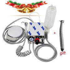 Portable Dental Turbine Unit Compressor Fast High Speed Handpiece Push 3w 4h