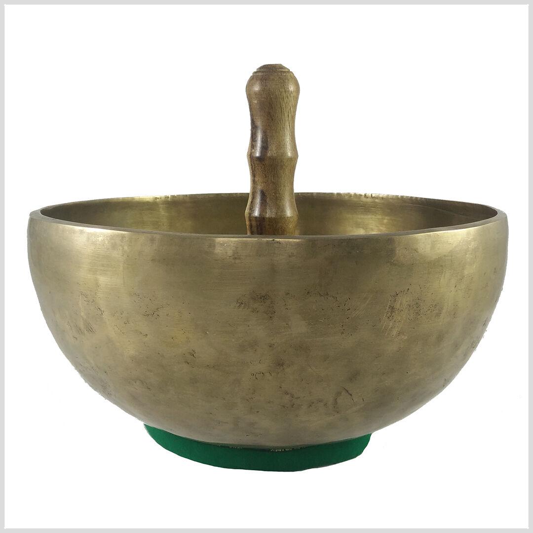 Tibet Sonoro Ciotola a forma di cuore Universal audio shell Meditazione 550Gramm