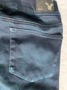 Sate Super Eagle Jeans Extreme American Bleu Stretch Legging 2 Nwt wIB8qU
