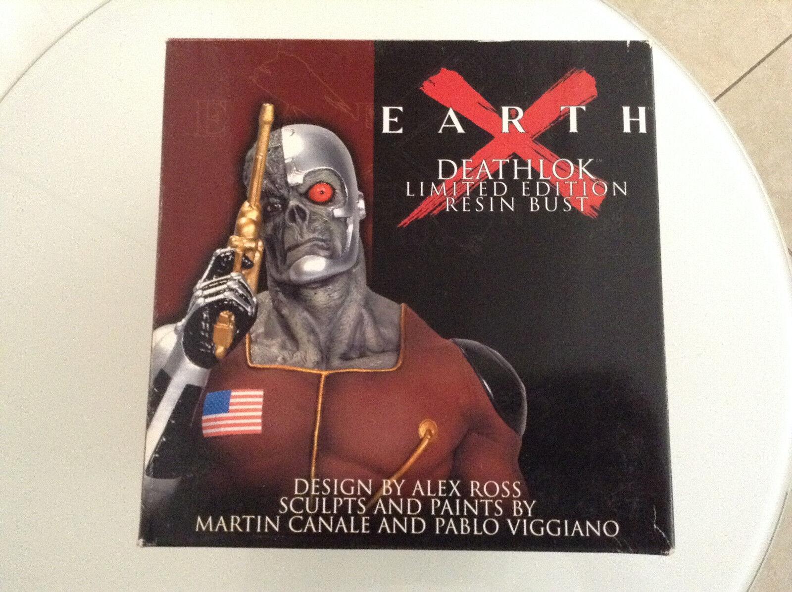 EARTH X DEATHLOK BUST 1669 3000 NEW ALEX ROSS DYNAMIC FORCES MARVEL AVENGERS 123