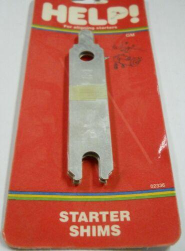 Dorman Help 02336 5 Piece Starter Shim Assort Kit GM Chevy Straight Bolt Pattern