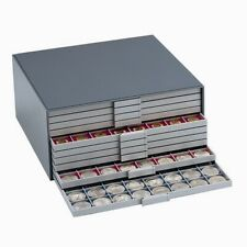 """Collector's Large Coin Storage Box for up to 1440 Coins - """"Choose your Trays"""""""