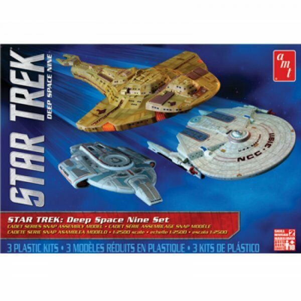 AMT Star Trek Deep Space Nine Set - 1 2500 Scale Model Kit - AMT764