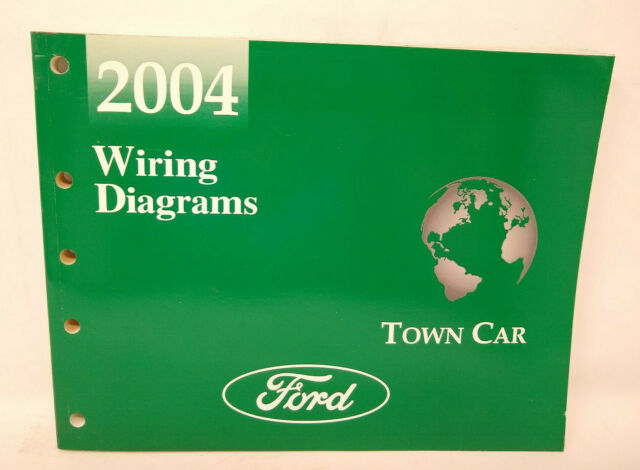 Oem 2004 Ford Lincoln Town Car Service Wiring Diagrams Manual