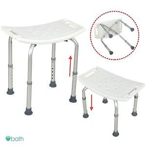 Adjustable Medical Bath Tub Shower Chair 6 Height Bench