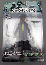 The Matrix Film Morpheus Action Figure 1999 Warner Bros Mature Collector New