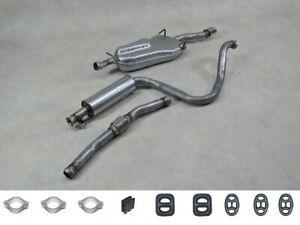 KLARIUS Auspuff ab KAT für Saab 9-3 2.0 Turbo BJ 99-03 AR + Mittel-u.Endtopf