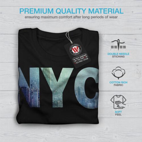 Wellcoda NY Photo New York USA Mens Long Sleeve T-shirt USA Graphic Design