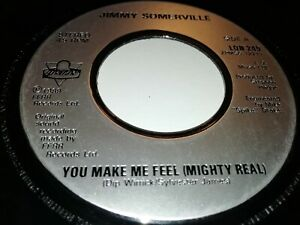 """JIMMY SOMERVILLE * YOU MAKE ME FEEL ( MIGHTY REAL ) * 7"""" SINGLE EXCELLENT 1989"""