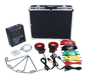 ETCR3200 Double Clamp Grounding Resistance Tester