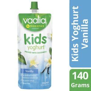 Vaalia Kids Vanilla Yoghurt Pouch 140g