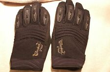 Women's  Motorcycle Riding Gloves Joe Rocket Black Large
