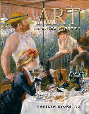 (Very Good)-Art: A Brief History (with Art History Interactive CD-ROM) (Paperbac