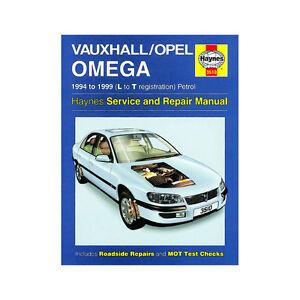 vauxhall omega 2 0 2 5 3 0 petrol 1994 99 l to t reg haynes manual rh ebay co uk Vauxhall Omega Estate 2001 Vauxhall Omega