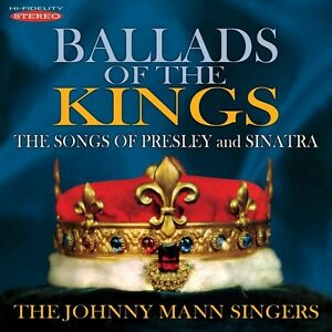 Ballads-Of-The-Kings-Songs-Of-Presley-Johnny-Mann-2014-CD-NUOVO