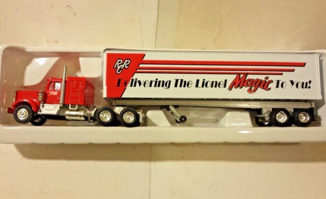 1332f4feb7a Lionel Railroader Club Tractor & Trailer 0 & 027 Scale 6-12875