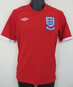 208f9228cc5 Image is loading Umbro-England-2010-South-Africa-Away-Football-Shirt-