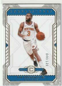 bbec715ea9c TIM HARDAWAY JR BASE CD #138 SERIAL #044/139 KNICKS 2018-19 PANINI ...