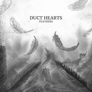 Duct Hearts – FEATHERS LP-Ltd. BLACK VINYL * Emo/post-rock-NEUF & non utilisé