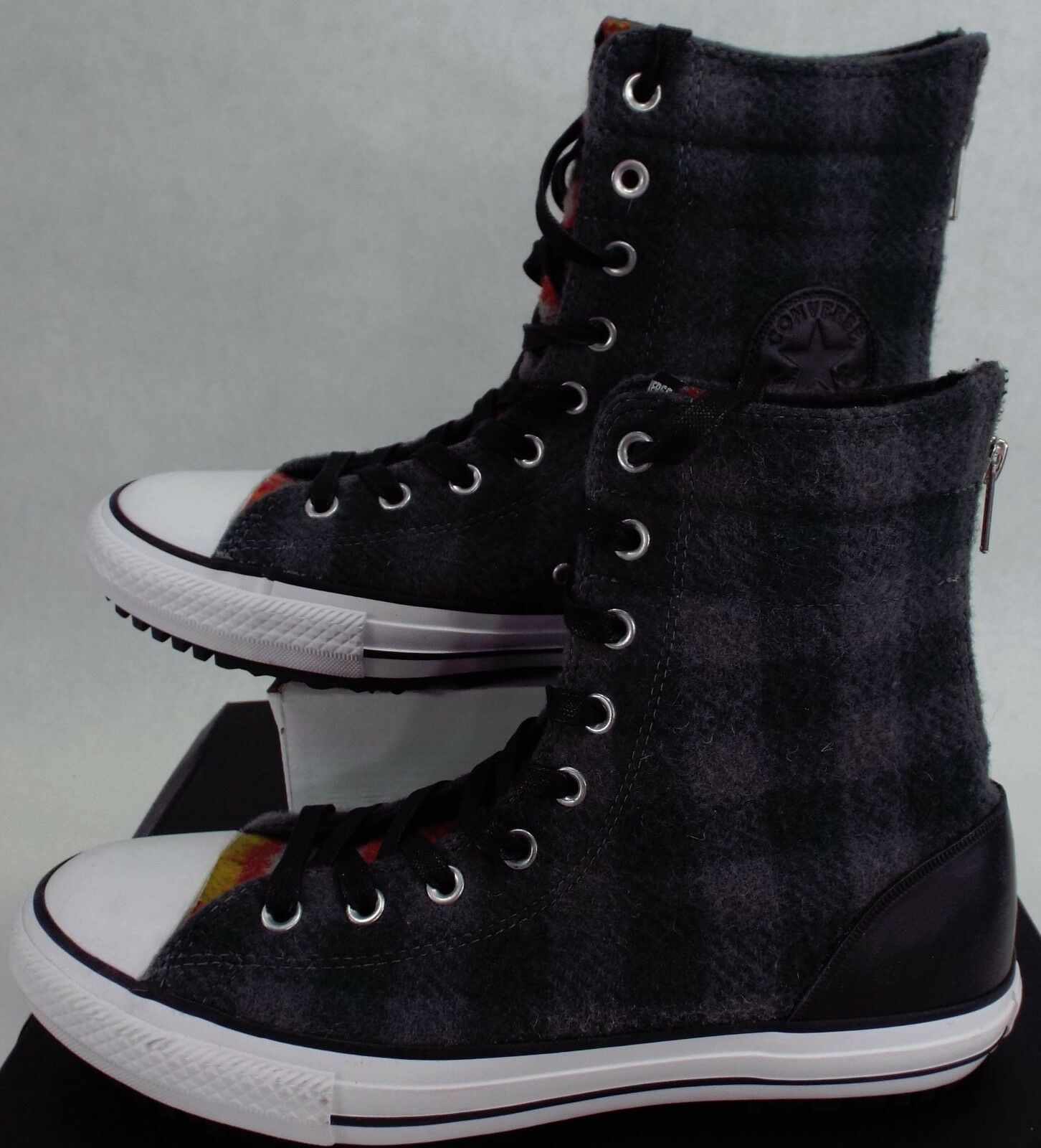 New Hi Damenschuhe CONVERSE 11 CT Hi New Rise Wool Winter Stiefel Plaid Schuhes 90 549686C 241f20