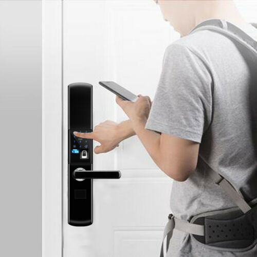 Fingerprint Door Lock Electronic Smart Fingerprint Lock Entry Card DHL
