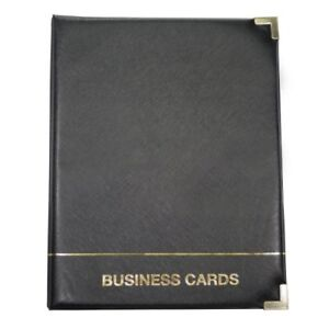 Anglers-3-ring-Business-Card-Binder-1000-Capacity-11-034-X-8-50-034-3-ring