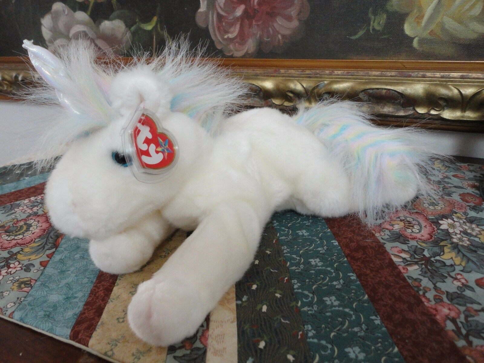 Ty Original Beanie Buddy Collection 2000 Mystic the Unicorn with Tags 12 inch