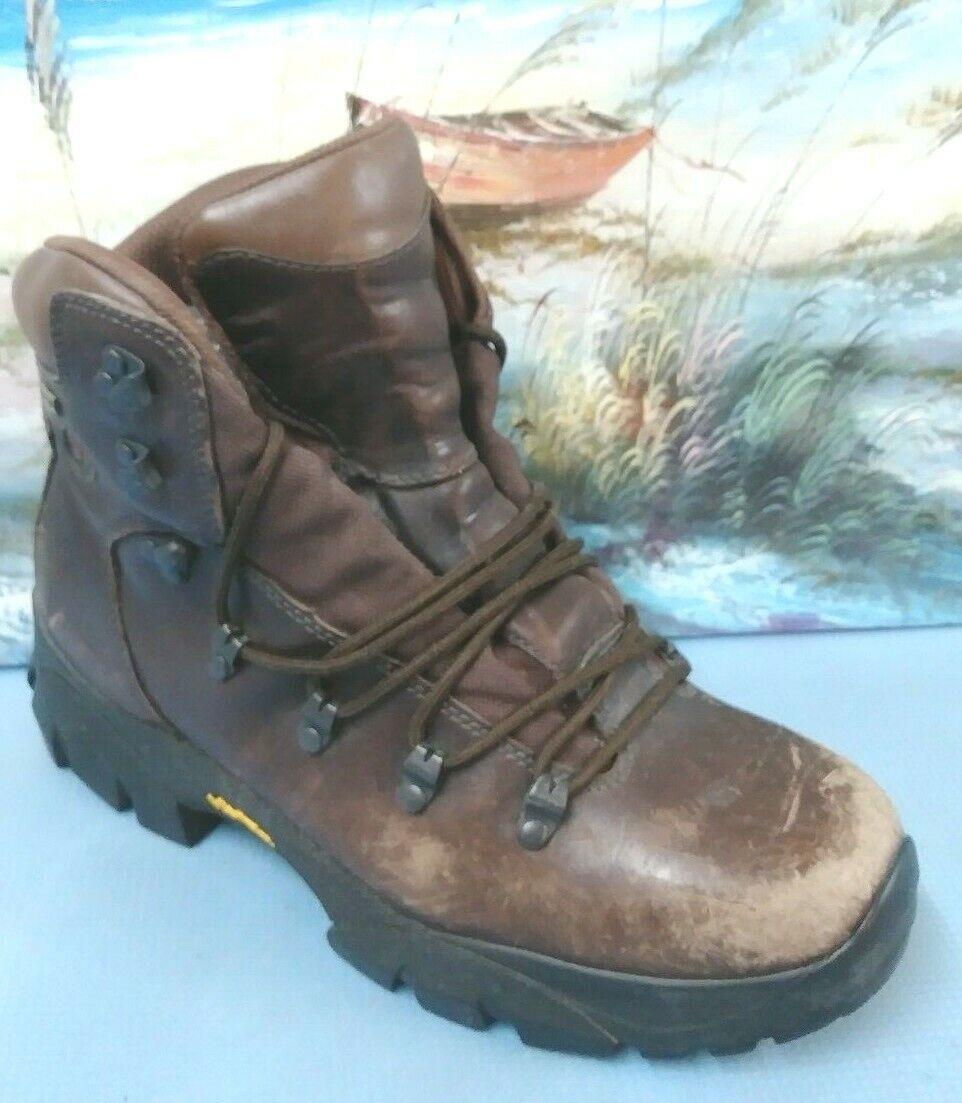 Merrell Ridge GoreTex DarkMarronee Waterproof uomini Hire stivali Diuominiione 8.5  0703