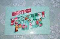 Glass Cutting Board 8x12 - Greetings From The Northpole