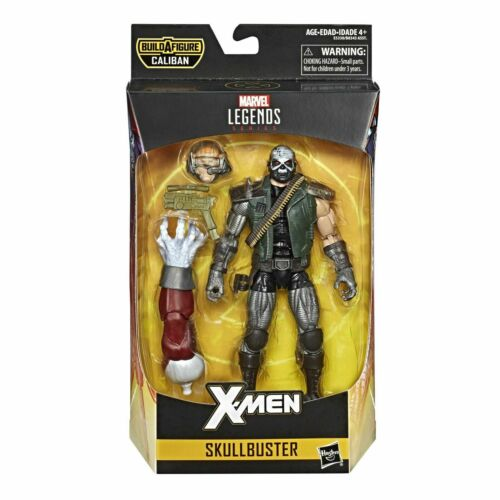 X-Men Marvel Legends 6-Inch Caliban WAVE skullbuster Action Figure-Nuovo In Magazzino