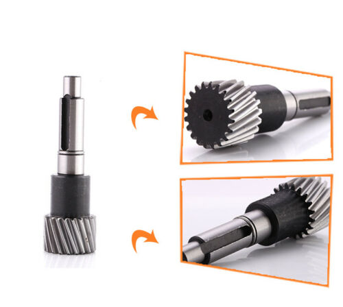 CNC Engraving Machine Part Gear Shaft Transmission 96mm Long Left Helical Gear