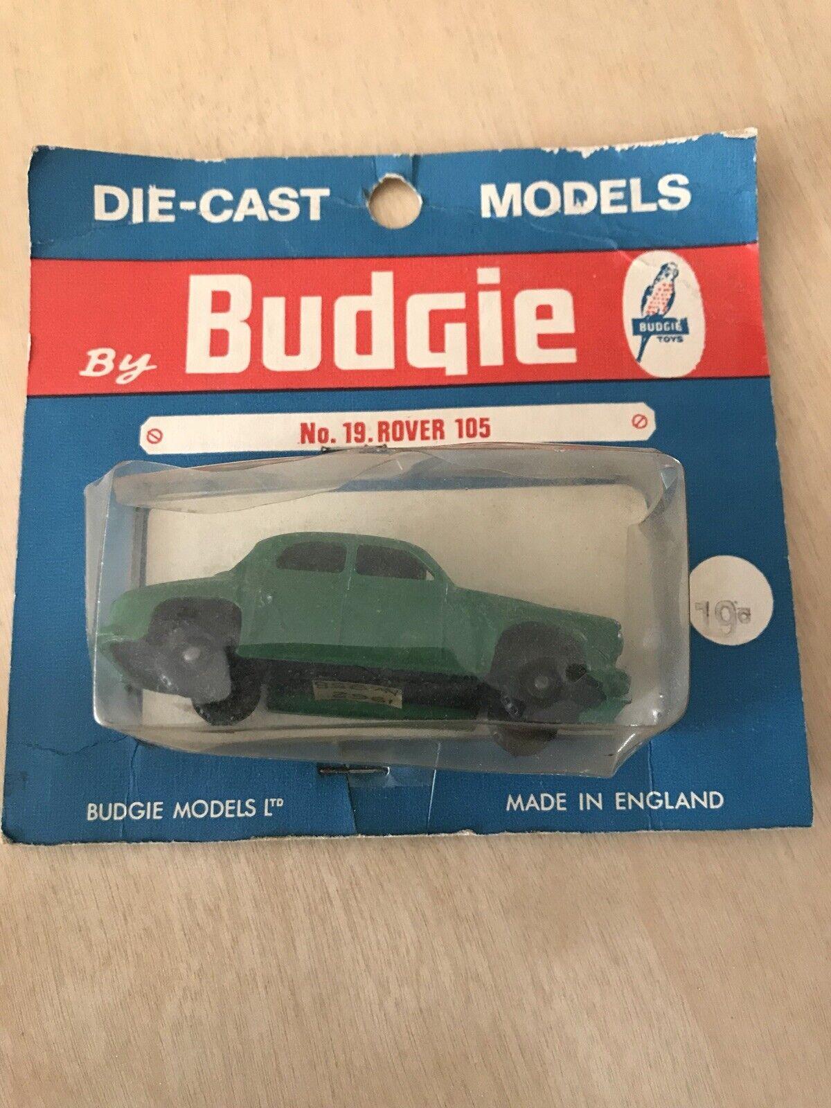 RARE  Budgie Toys nº 19 Rover 105  ROVERMATIC en blister  en ligne