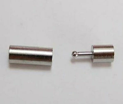 10-100pcs High Quanlity Steel Bayonet Clasps Fit For Jewelry Cords 2/3/4/5/6mm