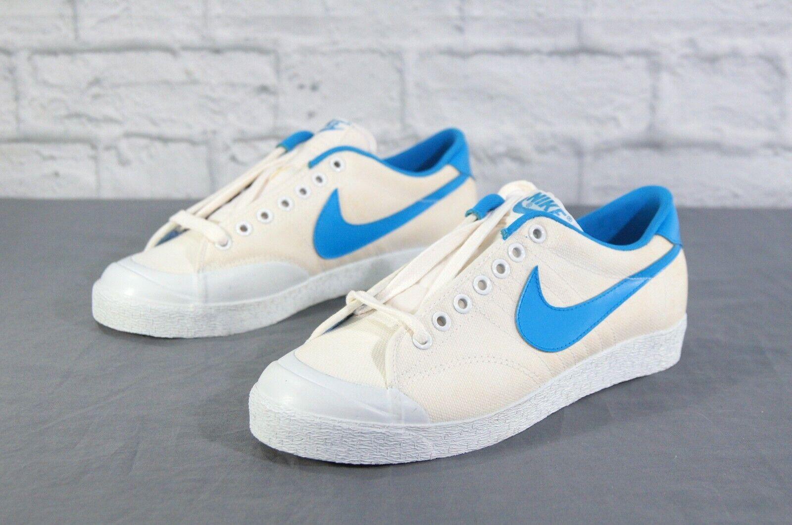 Nike 6.0 All Court Mens 8 XB Blue White