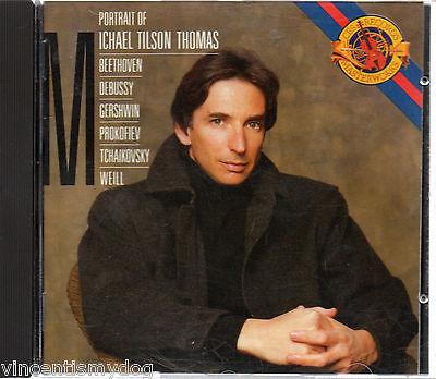 Portrait Of Michael Tilson Thomas (Sony CBS CD 1988)