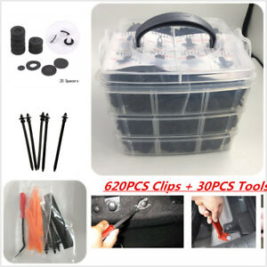 620PCS-PUSH-CLIPS-FASTENERS-FOR-DOOR-TRUNK-WITH-SET-INSTALL-REMOVER-TOOLS