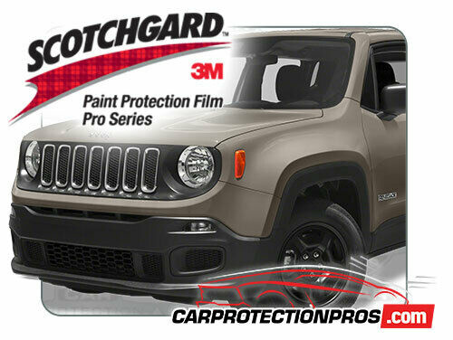 3M Scotchgard Paint Protection Film Pro Series 2016 2017 Toyota Land Cruiser